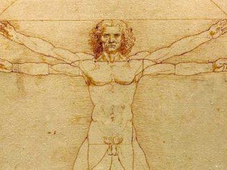 Der vitruvianische Mensch Leonardo da Vinci