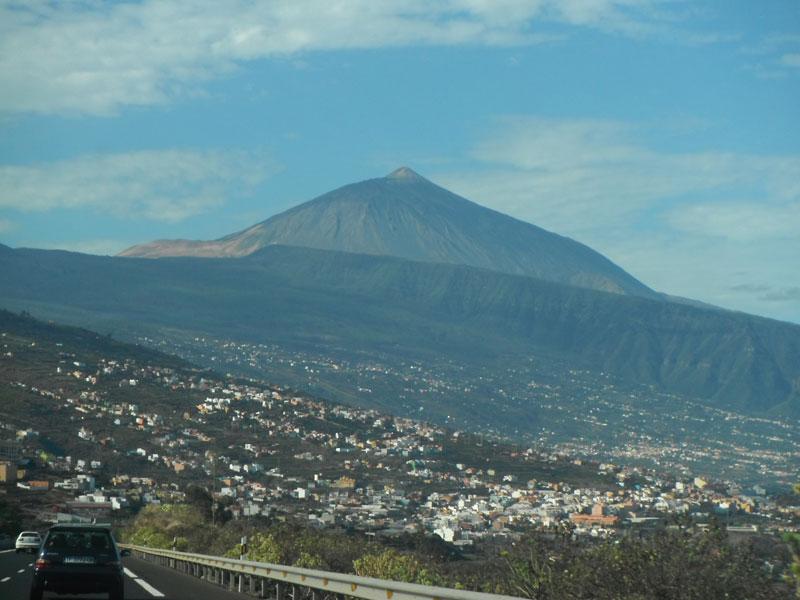 Höchster Berg Spaniens auf Teneriffa